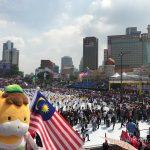 来られてよかった!マレーシアの独立記念日!