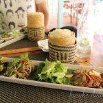 ラオスの伝統料理を食べてみた!