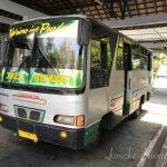 ローカルバスでジョグジャカルタ市内からボロブドゥールへ!