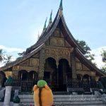色鮮やかな寺院、ワット・シェントーン!