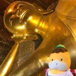 拝むぞ巨大寝釈迦像!バンコク最古の寺院「ワット・ポー」へ!