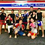 みんなでワンツー!タイの国技「ムエタイ」体験!
