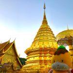 光り輝く金の仏塔!チェンマイの名所「ドイステープ寺院」へ!